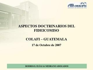 RODRIGO, EL AS  MEDRANO ABOGADOS