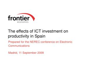 The effects of ICT investment on productivity in Spain