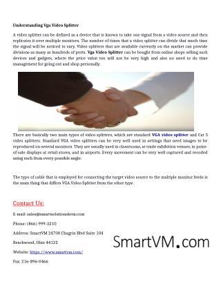 Understanding Vga Video Splitter