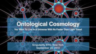 Ontological Cosmology