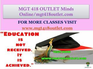 MGT 426 MART Minds Online/mgt426mart.com