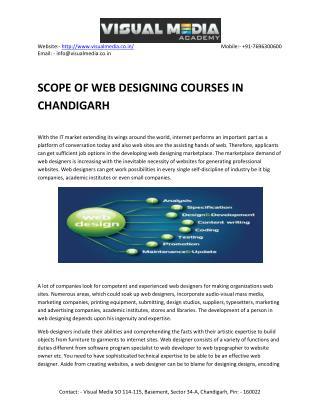 Web designing for Advance Skills
