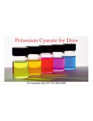 Potassium Cyanate For Dyes