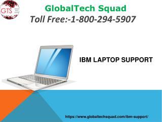 IBM Laptop Support | GlobalTech Squad