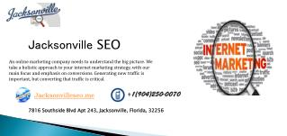 Seo Agency Jacksonville:-  It  Can Make Your Product a Brand
