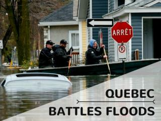 Quebec battles floods