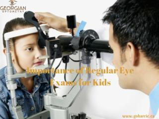 Importance of Regular Eye Exams for Kids