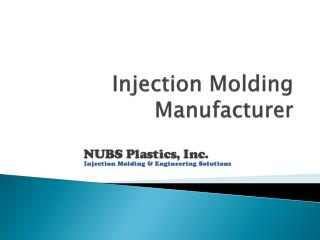 Plastic Injection Molding, Custom Injection Molding, Plastic Manufacturing Companies