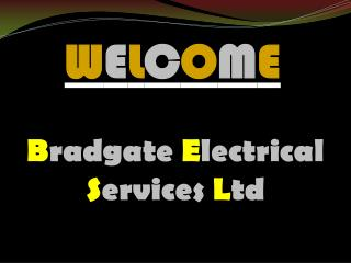 Best electrical services in Loughborough
