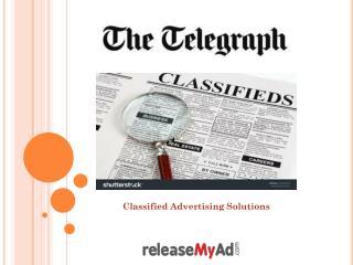 The Telegraph Newspaper Advertisement