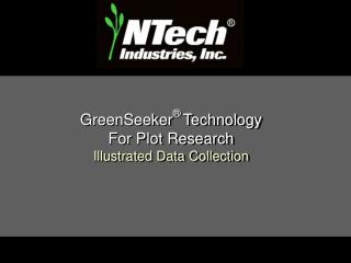 GreenSeeker  Technology  For Plot Research Illustrated Data Collection