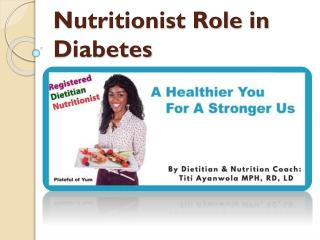 Nutritionist Role in Diabetes