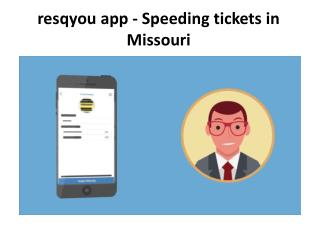 Amend your Missouri speeding ticket