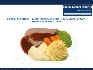 Pureed Food Market Research Reports & Industry Analysis, 2017 – 2024