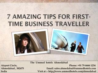 7 Amazing Tips For First-Time Business Traveller