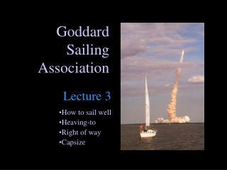 Goddard Sailing Association