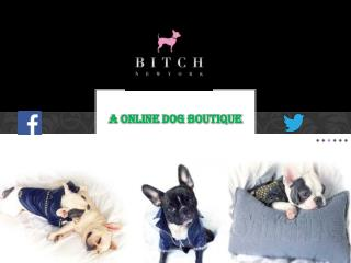 Online dog shop