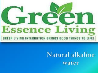 Best natural alkaline water brands