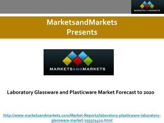 Laboratory Glassware and Plasticware Market Forecast to 2020