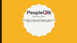 Manage your accounts system with Payroll software|PeopleQlik