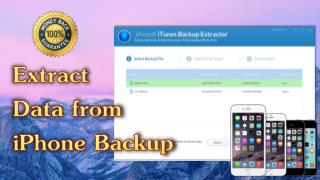 iPhone Backup Extractor-Extract Data from iPhone Backup