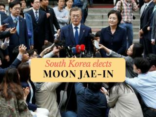 South Korea elects Moon Jae-in