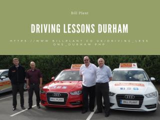Driving Lessons Durham