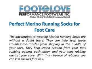 Perfect Merino Running Socks for Foot Care
