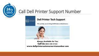 Dell Printer Service Number 1-844-240-4732