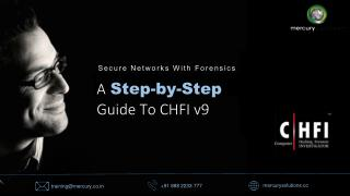 A Step by-Step Guide to CHFI v9 Certification Training