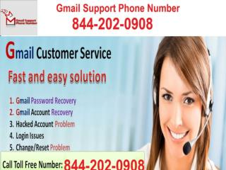 How to Solve Gmail account Problem? 1-844-292-0908 Gmail Support Number