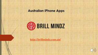 Best Australian iphone apps development