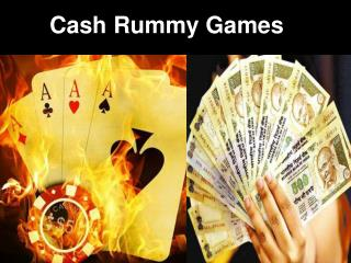 Cash Rummy Games