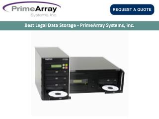 Best Legal Data Storage - PrimeArray Systems, Inc.