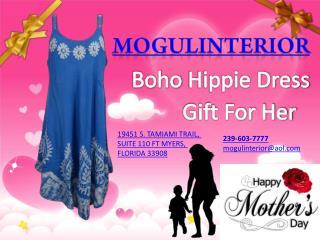 Boho Chic Dress Gift For Her