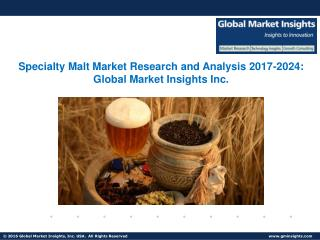 Specialty Malt Market, Present Efficiencies and Future Challenges from 2017 to 2024