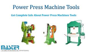 Power Press Machine Tools