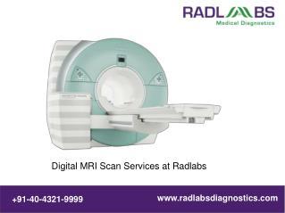 MRI Scanning Services @ Radlabs Medical Diagnostics