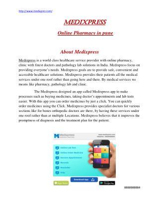 Medixpress online pharmacy in Pune