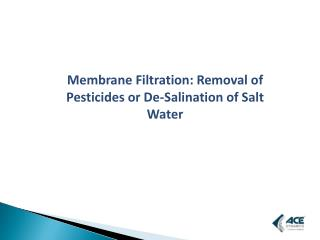 Treat Waste Water by Membrane Filtration Process