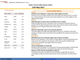 RIPPLES-COMMODITY-DAILY-REPORT-11-MAY-2017