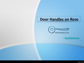 Buy Door Handles on rose online  at Doorhardware