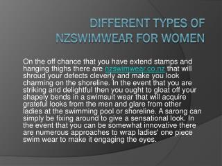 Swimwear nz