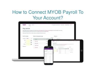 How To Connect MYOB Payroll To Your Account