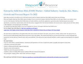 Enterprise Solid State Disk (ESSD) market