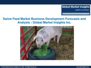 Swine Feed Market - Analysis, Share & Trends from 2017 – 2024