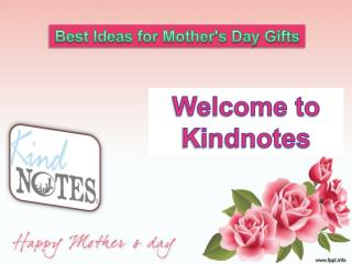Unique Mother's Day Gift Ideas 2017
