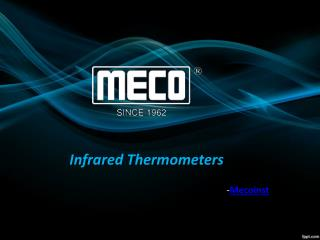 Infrared Thermometers-Mecoinst