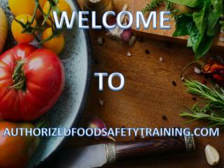 Know more about Online Food Protection Manager Certification