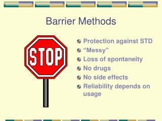 Barrier Methods